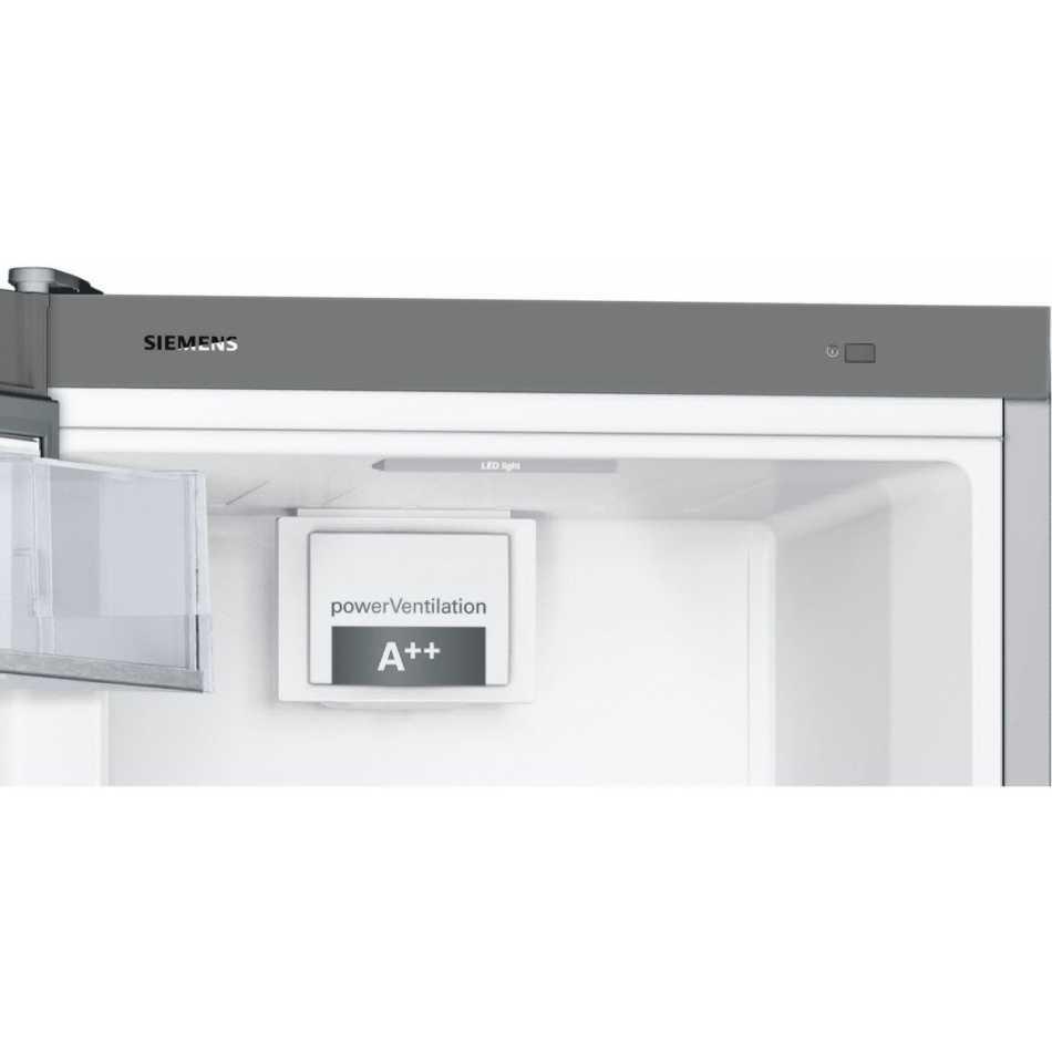 Холодильник SIEMENS KS36VBI3P Морозильная камера отсутствует
