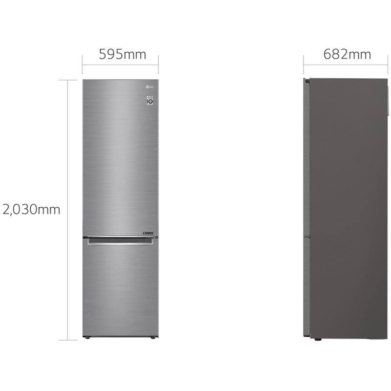 Холодильник LG GW-B509SMJZ Тип холодильника двухкамерный