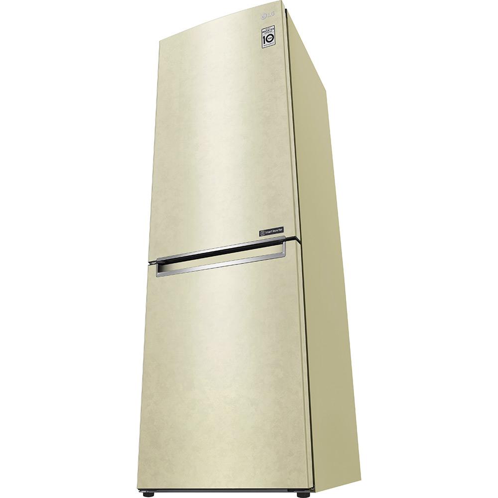 Холодильник LG GA-B459SECM Морозильная камера нижнее расположение