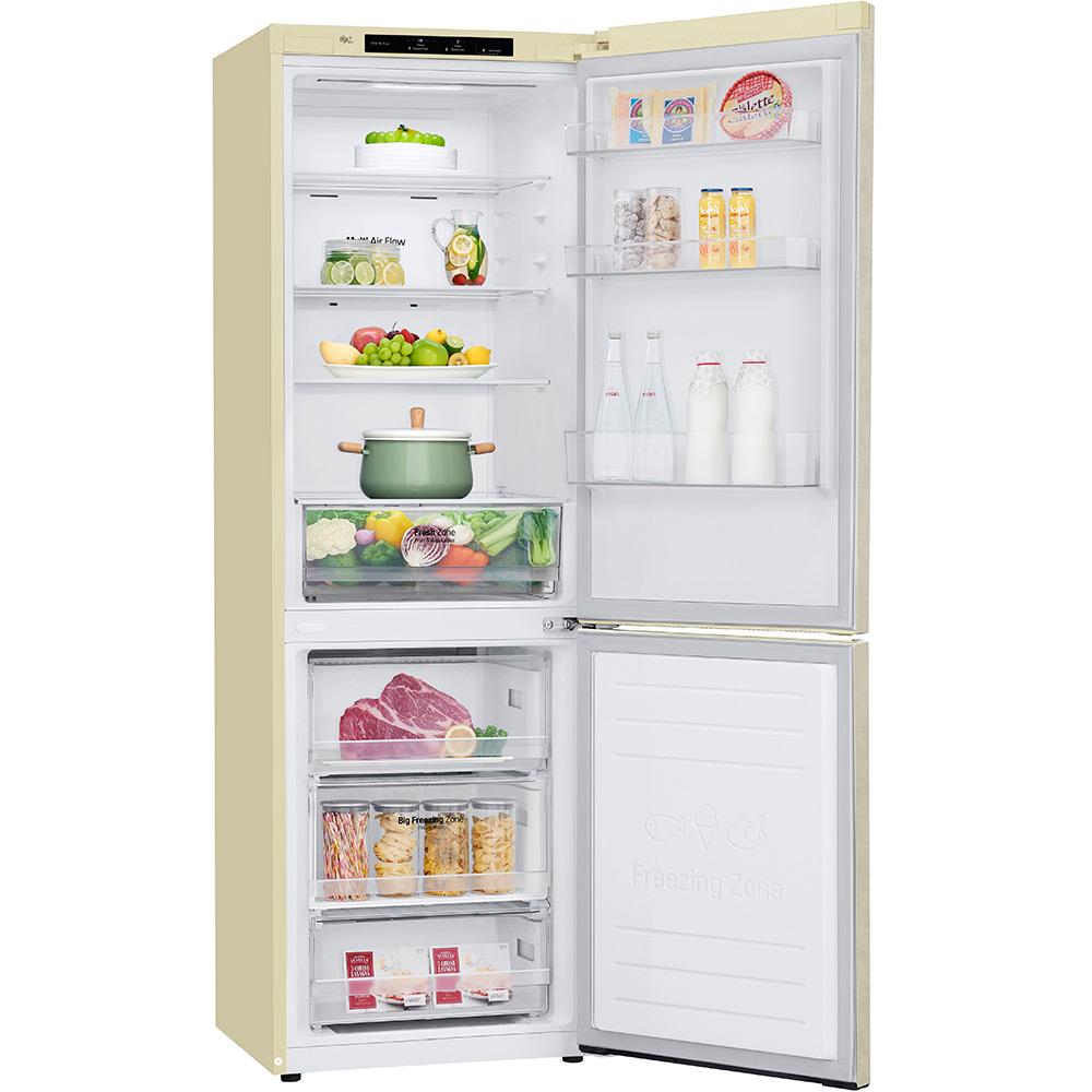 Холодильник LG GA-B459SECM Размораживание холодильной камеры No Frost