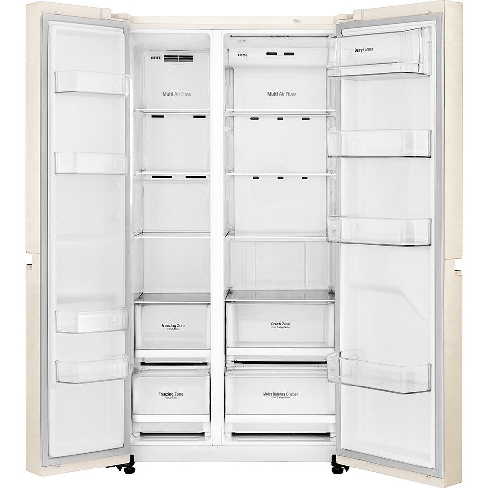 Холодильник LG GC-B247SEDC Размораживание холодильной камеры No Frost
