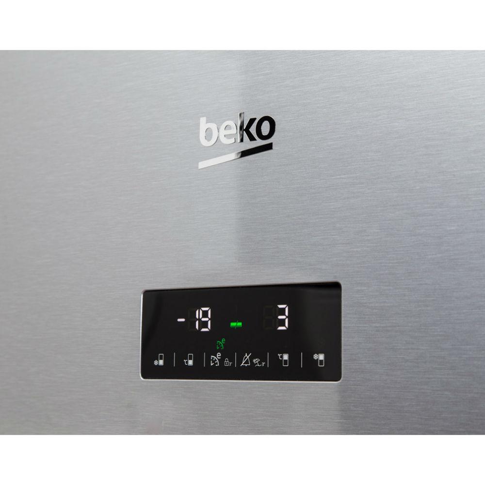Холодильник BEKO RCNA406E35ZXB Морозильная камера нижнее расположение