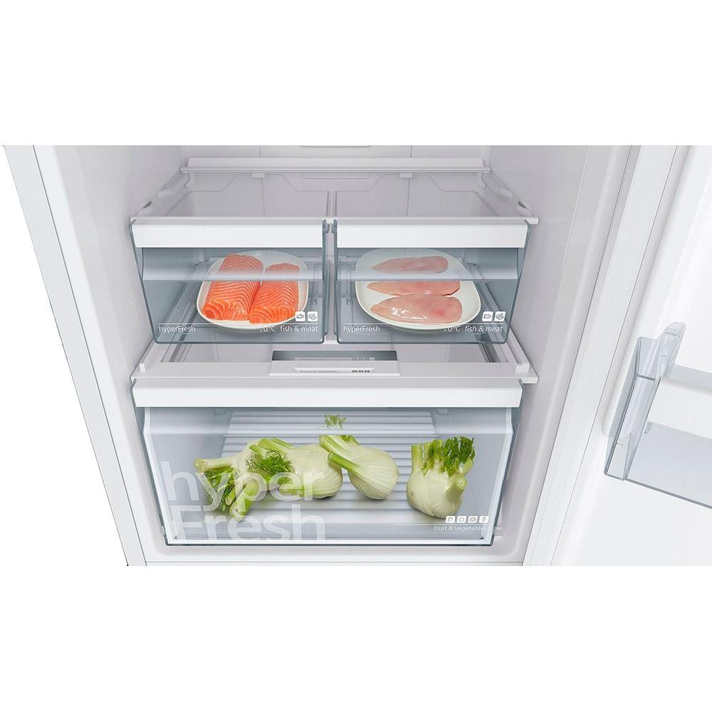 Холодильник SIEMENS KG39NVL316 Морозильная камера нижнее расположение
