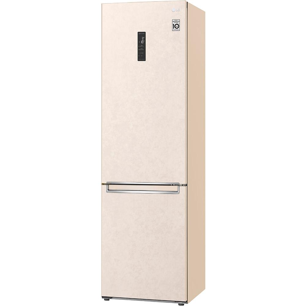Холодильник LG GA-B509SESM Морозильная камера нижнее расположение