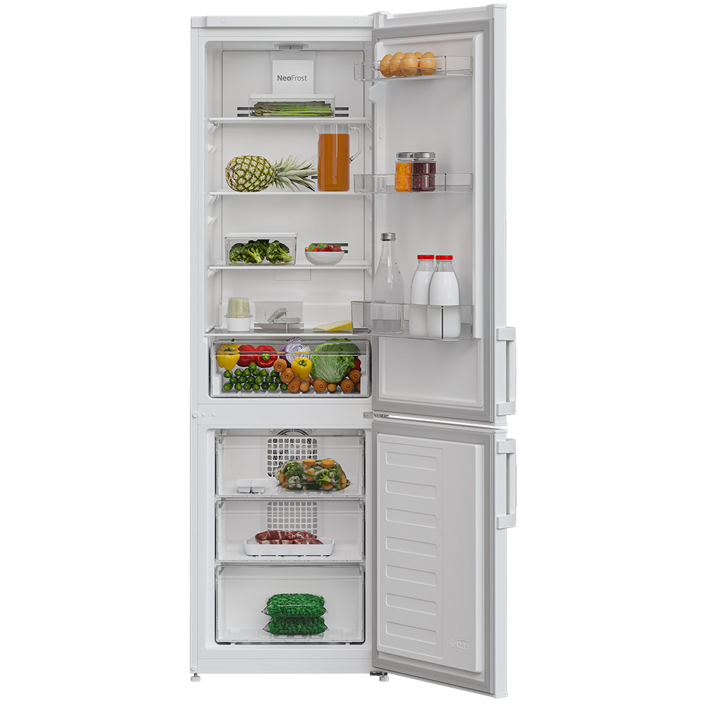 Холодильник ALTUS ALT295CNW Морозильная камера нижнее расположение
