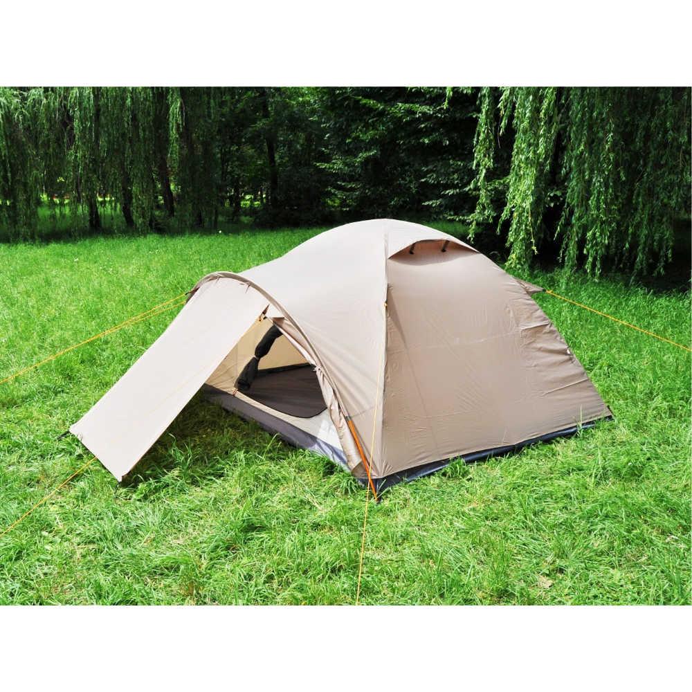 Палатка MOUSSON ATLANT 4 SAND (7766) Кол-во слоев 2