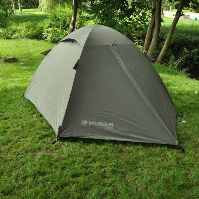 Палатка MOUSSON FLY 2 KHAKI Тип каркаса внутренний