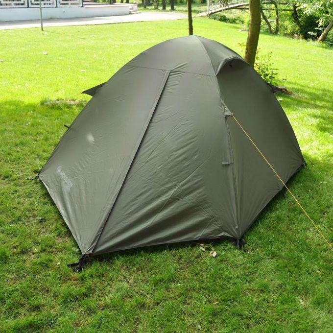 Палатка MOUSSON FLY 2 KHAKI Назначение туристическая
