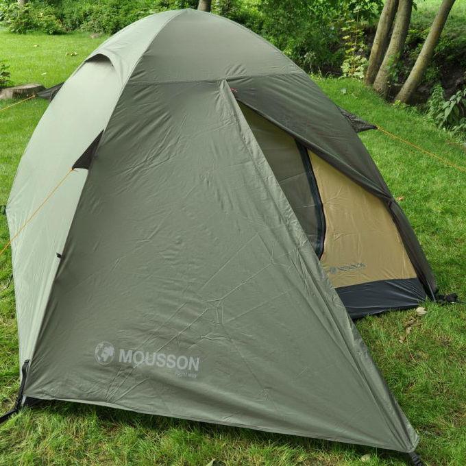 Палатка MOUSSON FLY 2 KHAKI Кол-во слоев 2