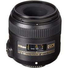Объектив NIKON AF-S DX Micro 40mm f/2.8 G ED