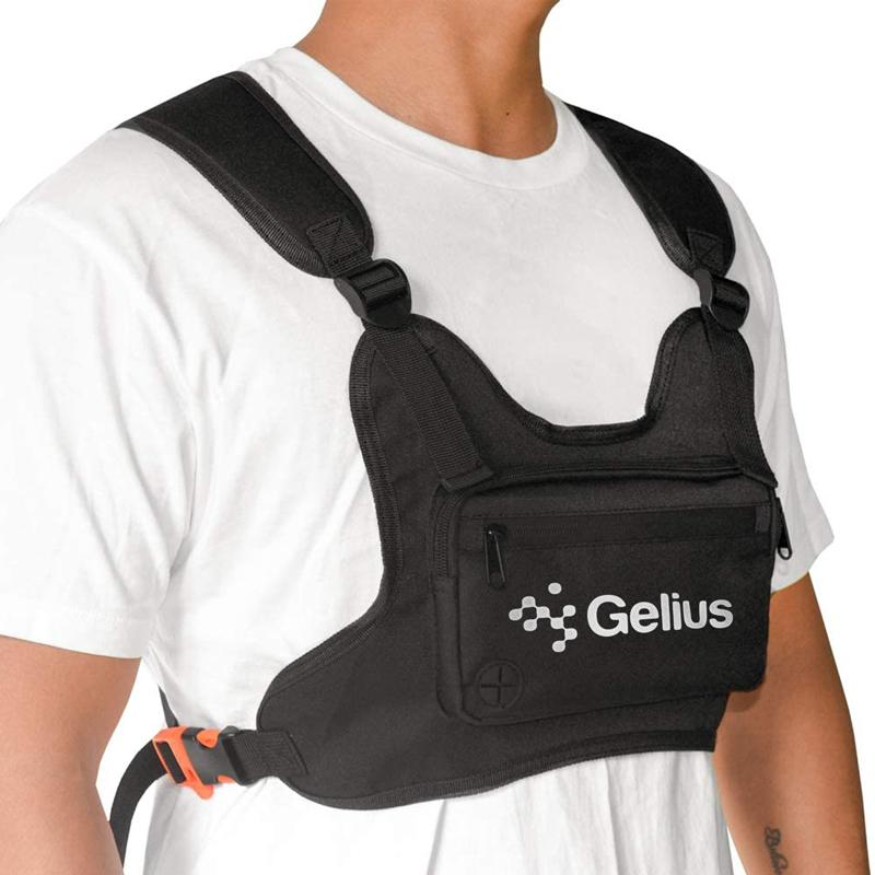 Нагрудная сумка GELIUS Pro Wallaby Bag GP-WB001 Black Категория унисекс
