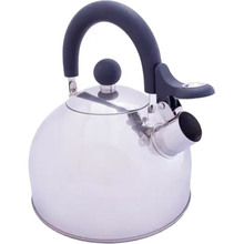 Чайник VANGO Stainless Steel Kettle with Folding Handle Silver 1.6 л (ACXKETTLE230W18)