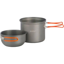 Набор посуды VANGO Hard Anodised 1 Person Cook Kit Grey (ACXCOOK HRAU01)
