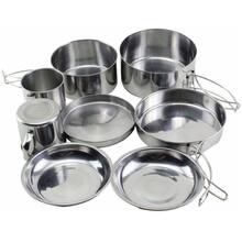 Набір посуду HIGHLANDER Peak Weekender Cookware Kit Metallic (CP215)
