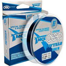 Леска Lineaeffe Take Extreme Deep Formula 300 м 0.28 мм FishTest 10.01 кг синяя (1312100247)