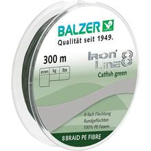 Леска BALZER Iron Line Catfish 8x Green 300 м 0.70 мм 89 кг (12667 070)