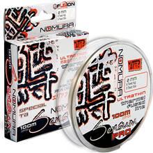 Шнур NOMURA Sensuм PRO Ultrathin 100м 0.10мм 6.3кг Transparent White (NM33006010)