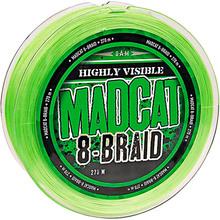 Шнур DAM MADCAT 8-Braid 270 м 0.35 мм 29.5 кг Green (55857)