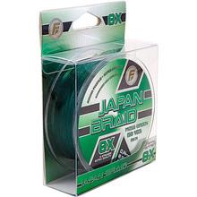 Шнур Lineaeffe FF Japan Braid 8X PE 135 м 0.12 мм 7.5 кг Moss Green (3009812)