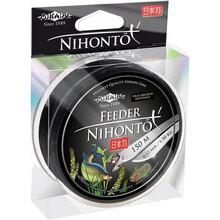 Волосінь MIKADO Nihonto Feeder 150 м 0.26 мм 8.5 кг Black (ZNF-026)