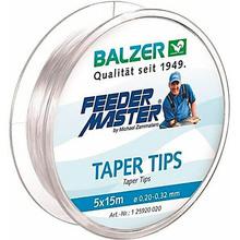 Леска BALZER Feedermaster Taper Tips 5 x 15 м 0.20 - 0.32 мм (12592 020)