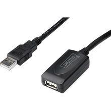 Кабель DIGITUS DA-73103 USB 2.0 (AM/AF)