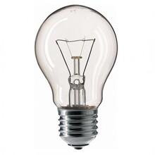 Лампа накаливания PHILIPS A55 100W E27 230V CL 1CT/12X10 Stan (926000004012)