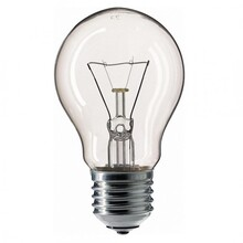 Лампа накаливания PHILIPS A55 75W E27 230V CL 1CT/12X10 Stan (926000004013)