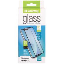 Защитное стекло COLORWAY 9H FC glue ColorWay Samsung Galaxy A31 black (CW-GSFGSGA315-BK)