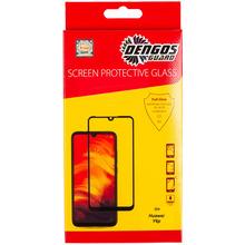 Защитное стекло DENGOS Tempered Glass Full Glue для Huawei Y6p (TGFG-122)