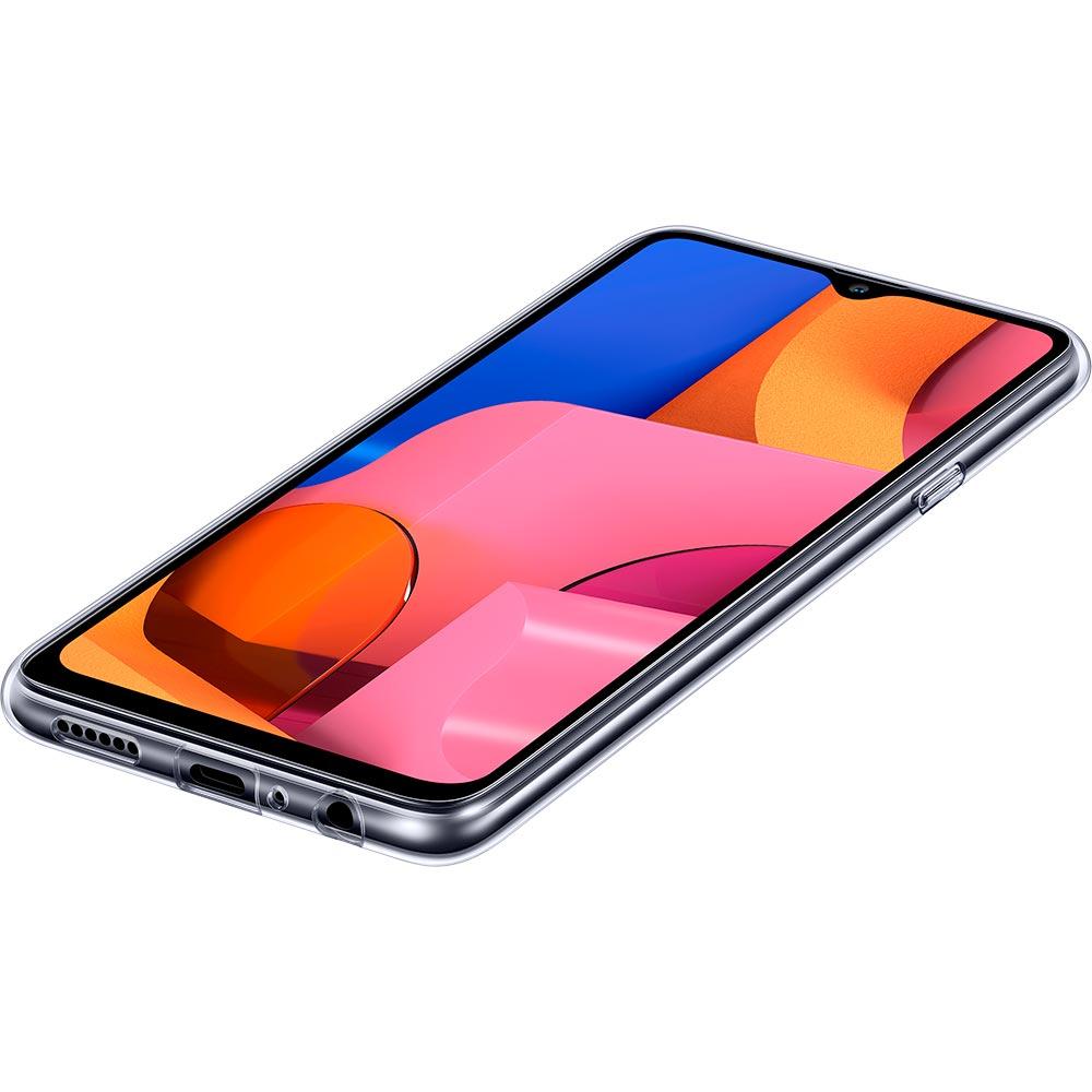 Чехол Samsung Clear Cover для Samsung Galaxy A20s / A207 Transparent (EF-QA207TTEGRU) Совместимость по модели Samsung Galaxy A20s