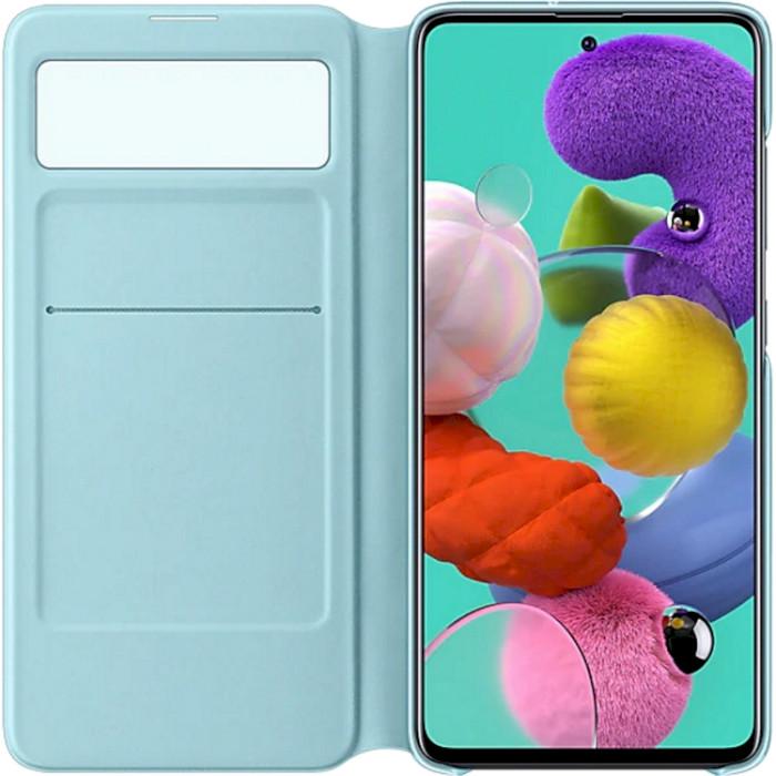 Чехол SAMSUNG Galaxy A51/A515 S View Wallet Cover (EF-EA515PBEGRU) Цвет черный