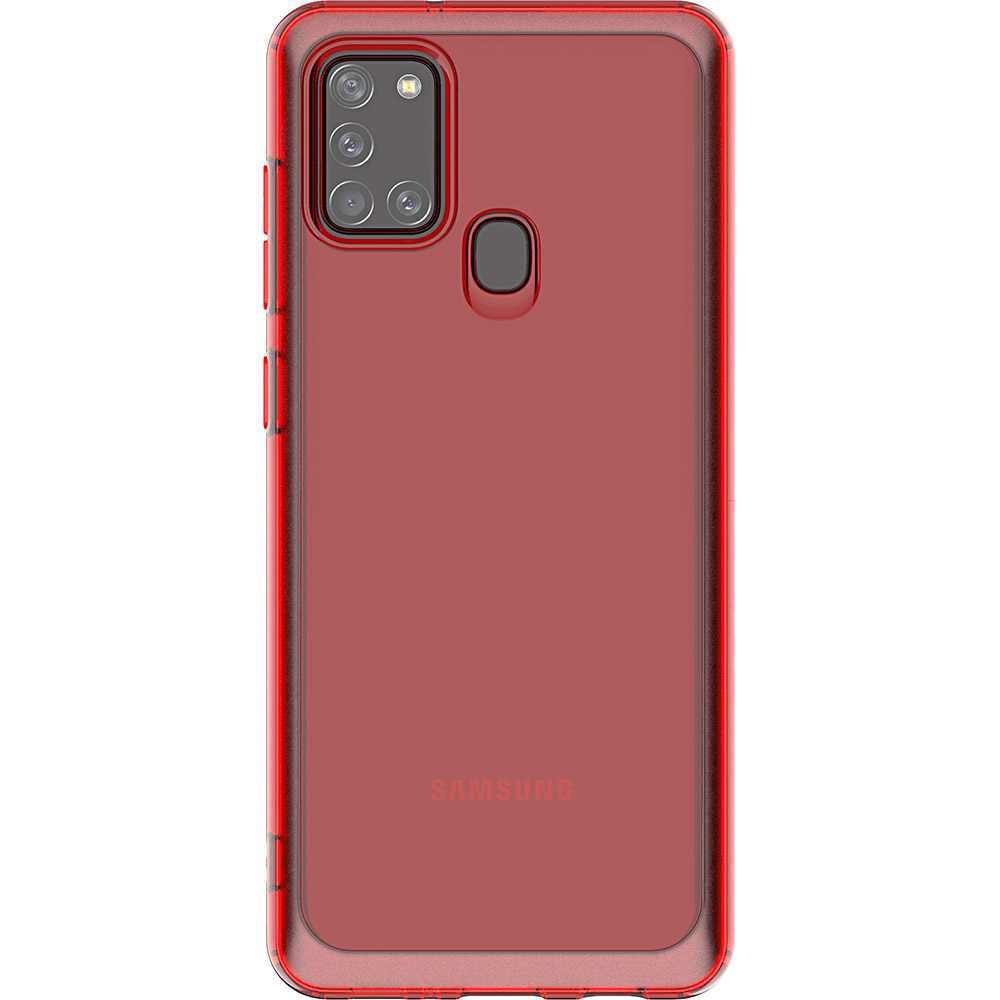 Чехол SAMSUNG KD LAB A Cover для Samsung Galaxy A21s Red (GP-FPA217KDARW) Тип чехол-накладка