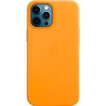 Чехол APPLE iPhone 12 Pro Max Leather MagSafe California Poppy (MHKH3ZE/A)