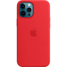 Чехол APPLE iPhone 12 Pro Max Silicone MagSafe Red (MHLF3ZE/A)