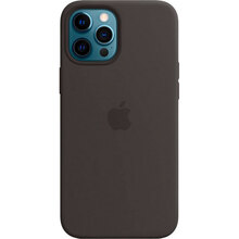 Чехол APPLE iPhone 12 Pro Max Silicone MagSafe Black (MHLG3ZE/A)