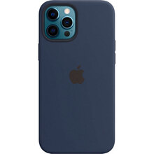 Чехол APPLE iPhone 12 Pro Max Silicone MagSafe Deep Navy (MHLD3ZE/A)