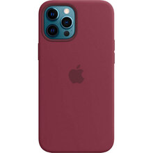 Чехол APPLE iPhone 12 Pro Max Silicone MagSafe Plum (MHLA3ZE/A)