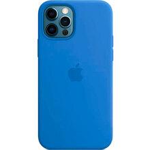 Чехол APPLE iPhone 12 Pro Max Silicone Case MagSafe-Capri Blue (MK043ZM/A)