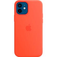 Чехол Apple MagSafe Silicone Case для Apple iPhone 12/12 Pro Electric Orange (MKTR3ZE/A)