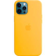 Чехол Apple MagSafe Silicone Case для Apple iPhone 12 Pro Max Sunflower (MKTW3ZE/A)