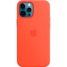 Чехол Apple MagSafe Silicone Case для Apple iPhone 12 Pro Max Electric Orange (MKTX3ZE/A)
