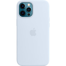 Чехол Apple MagSafe Silicone Case для Apple iPhone 12 Pro Max Cloud Blue (MKTY3ZE/A)