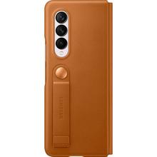 Чехол Leather Flip для Samsung Z Fold 3 Camel (EF-FF926LAEGRU)