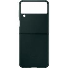 Чехол Leather Cover для Samsung Galaxy Z Flip 3 Green (EF-VF711LGEGRU)