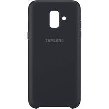 Чехол SAMSUNG для Samsung Galaxy A6 (2018) A600 Dual Layer Cover Black (EF-PA600CBEGRU)