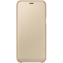 Чехол SAMSUNG для Samsung Galaxy A6 2018 A600 Wallet Cover Gold (EF-WA600CFEGRU)
