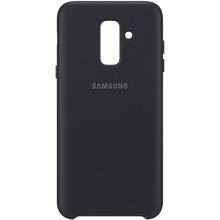 Чехол SAMSUNG для Samsung Galaxy A6+ 2018 A605 Dual Layer Cover Black (EF-PA605CBEGRU)