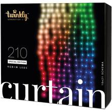 Гирлянда TWINKLY Smart LED Curtain,Wall RGBW 210 (TWW210SPP-TEU)