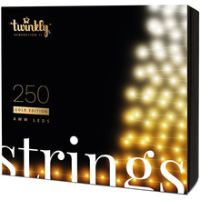 Гирлянда TWINKLY Smart LED Strings AWW 250 (TWS250GOP-BEU)